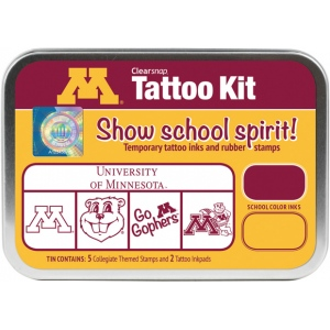 ColorBox® University of Minnesota Collegiate Tattoo Kit; Format: Tin; Type: Stamp; (model CS19628), price per set