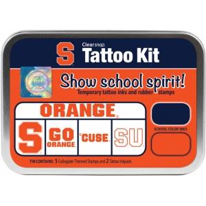 ColorBox® Syracuse University Collegiate Tattoo Kit; Format: Tin; Type: Stamp; (model CS19631), price per set