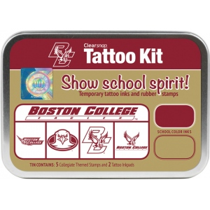ColorBox® Boston College Collegiate Tattoo Kit: Tin, Stamp, (model CS19632), price per set