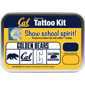 ColorBox® University of California Berkeley Collegiate Tattoo Kit; Format: Tin; Type: Stamp; (model CS19634), price per set