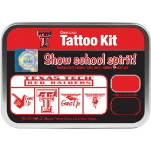 ColorBox® Texas Tech University Collegiate Tattoo Kit ; Format: Tin; Type: Stamp; (model CS19641), price per set