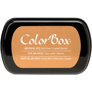 ColorBox® Full Size Archival Dye Ink Pad Toasted Apricot; Color: Orange; Format: Pad; Ink Type: Dye-Based; Shape: Full Size Rectangle; (model CS27039), price per each