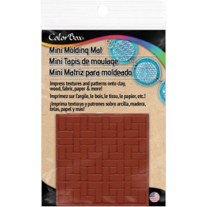 "ColorBox® Molding Mats Patio Background 2"" x 2"": Rubber, 2"" x 2"", Molding Mat, (model CS69428), price per each"