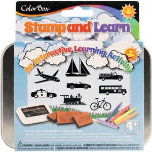 ColorBox® Stamp and Learn Going Places Kit; Type: Kit; (model CS86015), price per set