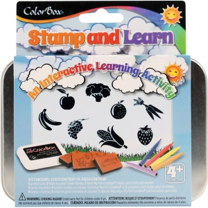 ColorBox® Stamp and Learn Let's Eat Kit; Type: Kit; (model CS86016), price per set