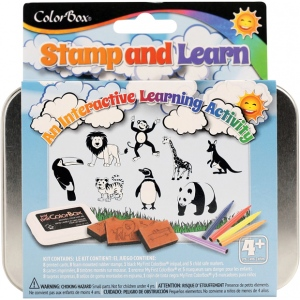 ColorBox® Stamp and Learn Into The Wild Kit: Kit, (model CS86017), price per set