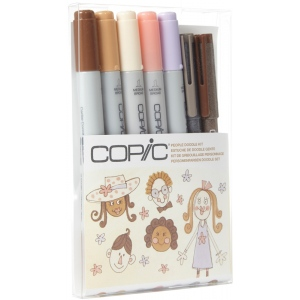 Copic Ciao Doodle Kit: People