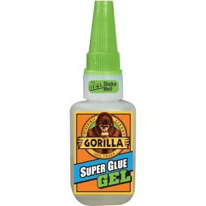Gorilla Glue® Super Glue Gel 0.53oz.: Bottle, .53 oz, Gel, (model G76001), price per each