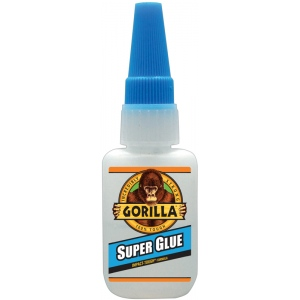 Gorilla Glue® Super Glue Liquid 0.53oz.; Format: Bottle; Size: .53 oz; Type: Heavy-duty; (model G78050), price per each