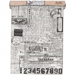 Advantus - Tim Holtz - Ideaology - Tissue Wrap - Postale