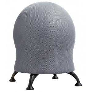 "Zenergy™ Gray Mesh Ball Chair: No, Black/Gray, No, Under 24"", Mesh, (model 4750GR), price per each"