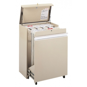 "Safco® MasterFile Storage Cabinet 42"" x 30""; Capacity: 1600 Sheets; Color: White/Ivory; Material: Steel; Size: 21 1/2""d x 36""w x 50""h; (model 5024), price per each"