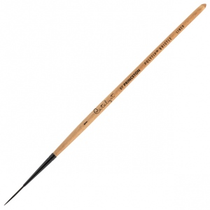 Princeton™ Catalyst™ Polytip Bristle Brush Liner 1 Short Handle: Short Handle, Synthetic, Liner, 1, Acrylic, (model 6450L-1), price per each