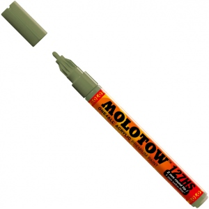 MOLOTOW™ 2mm Fine Tip Acrylic Pump Marker Amazonas Light; Color: Brown; Ink Type: Paint; Refillable: Yes; Tip Size: 2mm; Type: Paint Marker; (model M127223), price per each