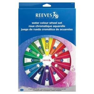 Reeves™ Watercolor Color Wheel Set; Type: Watercolor; (model 8491470), price per set