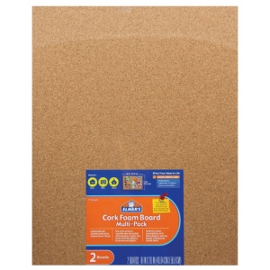 "Elmer's Cork Foam Board: 16"" x 20"", Pack of 2"
