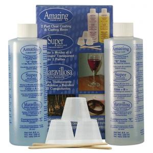 Alumilite Amazing Clear Cast: 16 oz, Casting Resin, (model ALM10590), price per set