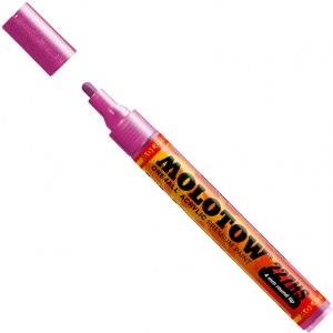MOLOTOW™ 4mm Round Tip Acrylic Pump Marker Metallic Pink; Color: Metallic; Ink Type: Paint; Refillable: Yes; Tip Size: 4mm; Type: Paint Marker; (model M227303), price per each