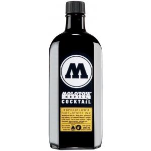 MOLOTOW™ Speedflow 250ml Black Ink Refill; Color: Black/Gray; Type: Refill; (model M691767), price per each