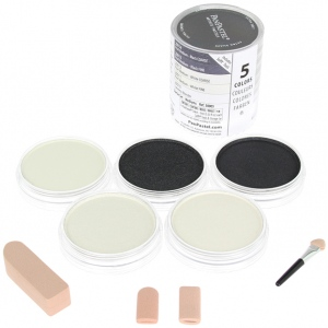 PanPastel® Ultra Soft Artists' Painting Pastel Mediums Set; Format: Pan; Type: Ultra Soft; (model PP30005), price per set