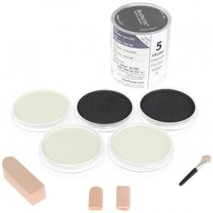 PanPastel® Ultra Soft Artists' Painting Pastel Mediums Set; Format: Pan; Type: Ultra Soft; (model PP30005), price per set