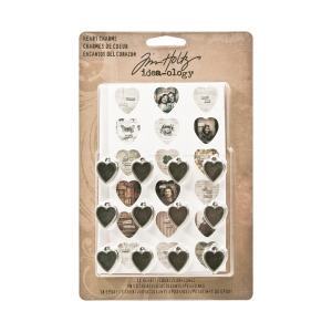 Advantus - Tim Holtz - Ideaology -Heart Charms