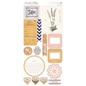 Teresa Collins Designs - Life Emporium - Chipboard Elements