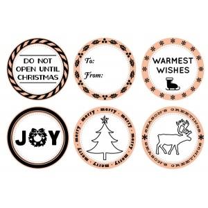 Mason Row - Seasons Greetings Stamp Set