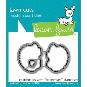 Lawn Fawn - Lawn Cuts - Hedgehugs Dies