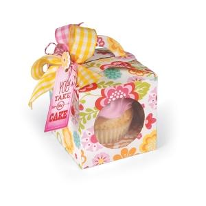 Sizzix - Bigz XL Die - Box - Cupcake