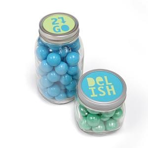Sizzix - Bigz Die - Jar Lid Phrases - Delish & 2 Go