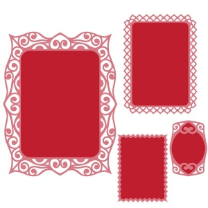 Spellbinders - Nestabilities Dies - Labels Forty Decorative Accents