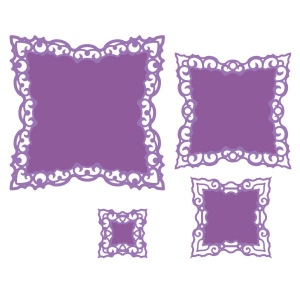 Spellbinders - Nestabilities Dies - Labels Forty-Two Decorative Elements
