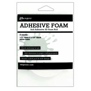 Ranger - Adhesive - Foam Roll - White