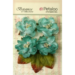 Petaloo - Sugared Blooms - Teal