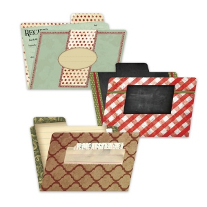 7Gypsies - Recipe - File Folders -  4x6 Printed