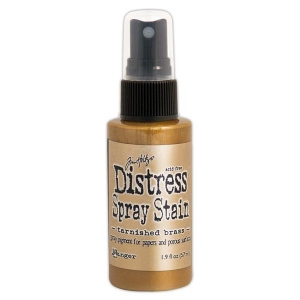 Ranger - Tim Holtz - Distress Spray Stains - Tarnished Brass