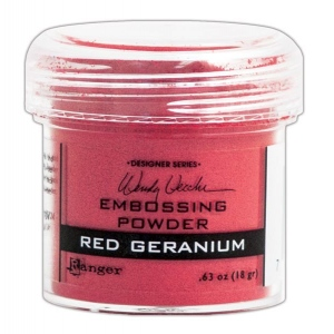 Ranger - Wendy Vecchi - Embossing Powders - Red Geranium