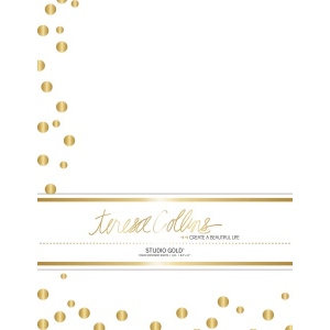 Teresa Collins Designs - Studio Gold - Stationery Pack - Dots