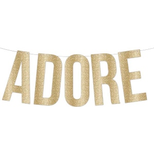 Teresa Collins Designs - Studio Gold - Banner - Adore