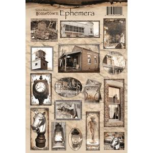 Ken Oliver - Hometown - Ephemera Sheet 8x12