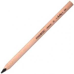Finetec Chubby Colored Pencil Grey; Color: Black/Gray; Format: Pencil; Lead Size: 6mm; (model S597), price per each