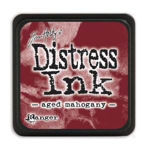 Tim Holtz - Distress Mini Ink Pad - Open Stock - Aged Mahogany