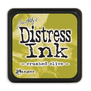 Tim Holtz - Distress Mini Ink Pad - Open Stock - Crushed Olive