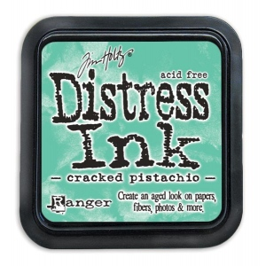 Tim Holtz - Distress - January Color Of The Month - Cracked Pistachio - Distress Ink Pad