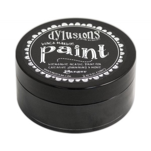 Ranger - Dyan Reaveley - Dylusions - Acrylic Paint - Black Marble