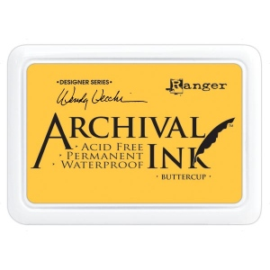 Ranger - Wendy Vecchi - Archival Ink Pads #0 - Buttercup