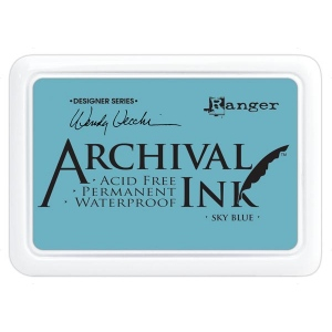 Ranger - Wendy Vecchi - Archival Ink Pads #0 - Sky Blue
