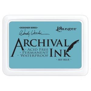 Ranger - Wendy Vecchi - Archival Ink Pads #0 - Sky Blue