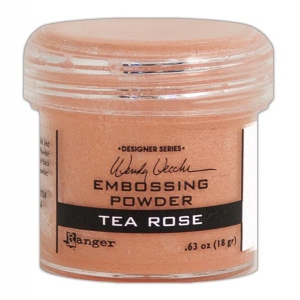 Ranger - Wendy Vecchi - Embossing Powder - Tea Rose